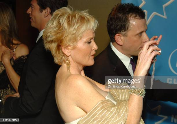 Christine Ebersole and Bill Moloney during Entertainment Industry Foundation's Colon Cancer Benefit on the QM2 Red Carpet at Queen Mary 2 in New York...