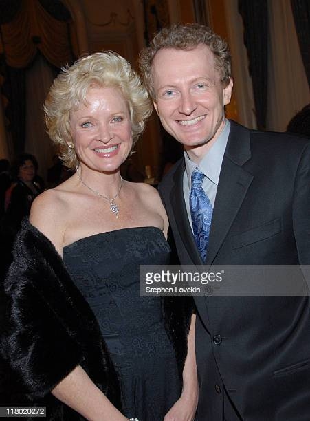 Christine Ebersole and Bob Morton during 60th Annual Tony Awards Cocktail Celebration at The Waldorf Astoria in New York City New York United States