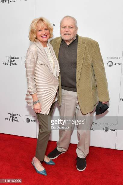 "Christine Ebersole and Brian Dennehy attend the ""Driveways"" screening during the 2019 Tribeca Film Festival at Village East Cinema on April 30, 2019..."