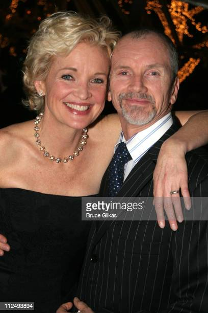 Christine Ebersole and husband Bill Moloney during Steel Magnolias Opening Night on Broadway After Party Inside at Tavern on the Green in New York...