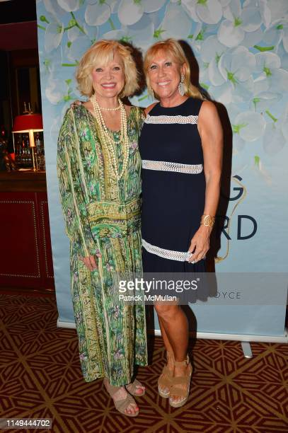 Christine Ebersole and Laurette Kittle attend Deborah Goodrich Royce's Finding Mrs Ford Book Launch at Doubles on June 11 2019 in New York City
