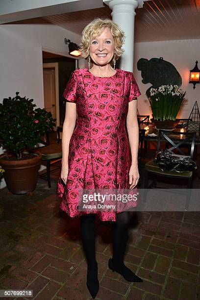Christine Ebersole attends and perfoms at the Project Angel Food Christine Ebersole private concert fundraiser on January 30 2016 in Los Angeles...