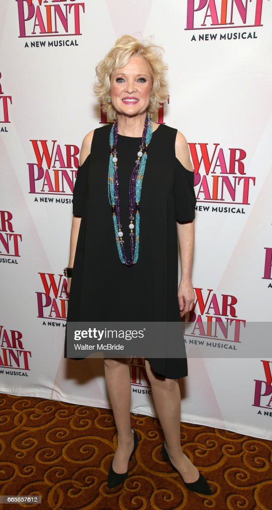 Christine Ebersole attends the Broadway opening night after party for 'War Paint' at Gotham Hall on April 6, 2017 in New York City.