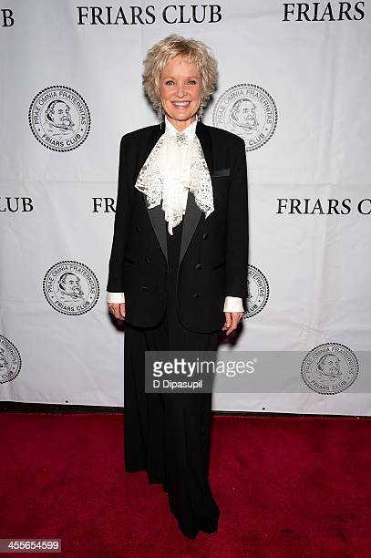 Christine Ebersole attends the Friars Club We Wish You The Merriest annual event at New York Friars Club on December 12 2013 in New York City
