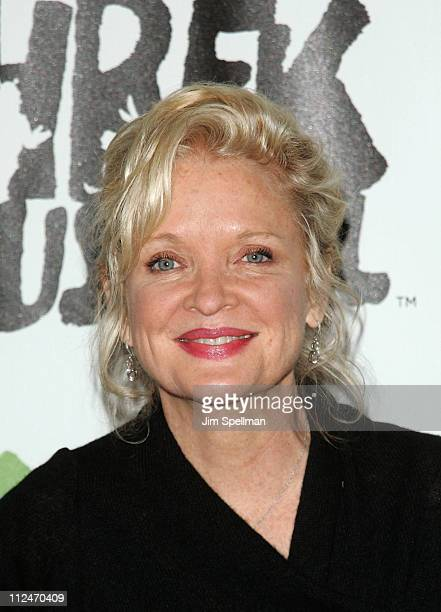 """Christine Ebersole attends the opening night party for """"Shrek The Musical"""" on Broadway at the Plaza hotel on December 14, 2008 in New York City."""