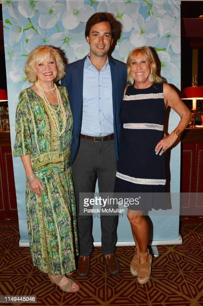 Christine Ebersole Cody Kittle and Laurette Kittle attend Deborah Goodrich Royce's Finding Mrs Ford Book Launch at Doubles on June 11 2019 in New...