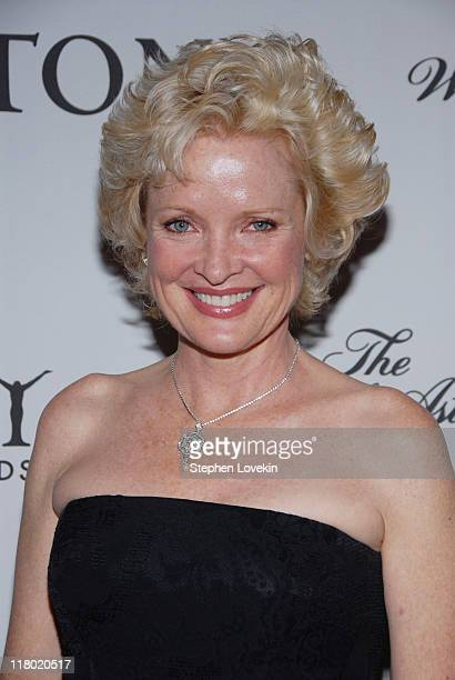 Christine Ebersole during 60th Annual Tony Awards Cocktail Celebration at The Waldorf Astoria in New York City New York United States