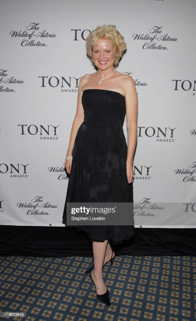 Christine Ebersole during 60th Annual Tony Awards - Cocktail Celebration at The Waldorf Astoria in New York City, New York, United States.