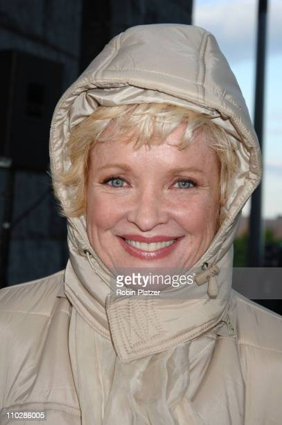 Christine Ebersole during Bette Midler's New York Restoration Project's 5th Annual Spring Picnic at Highbridge Park in New York City New York United...
