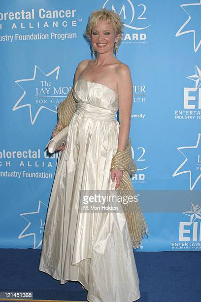 Christine Ebersole during Hollywood Hits Broadway, EIF's National Colorectal Cancer Research Alliance fundraiser at Queen Mary 2, Pier 92 in New...