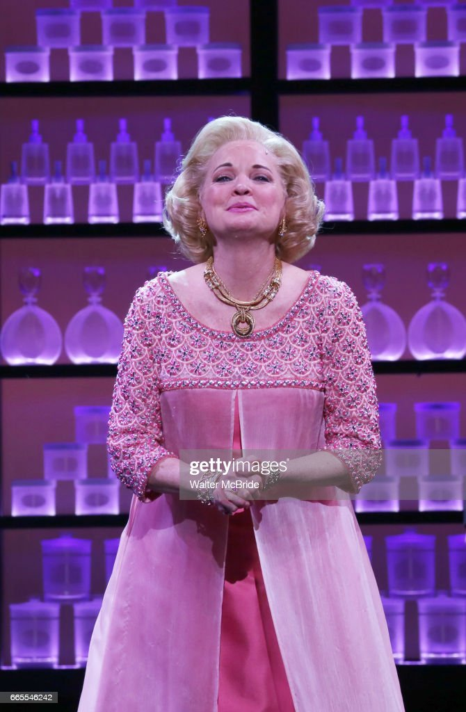 Christine Ebersole during the Broadway opening night performance curtain call for 'War Paint' at the Nederlander Theatre on April 6, 2017 in New York City.