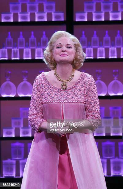 Christine Ebersole during the Broadway opening night performance curtain call for 'War Paint' at the Nederlander Theatre on April 6 2017 in New York...
