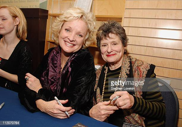 Christine Ebersole who portrays Edith Bouvier Beale and Mary Louise Wilson who portrays Edith Ewing Bouvier Beale in the Broadway musical Grey Gardens