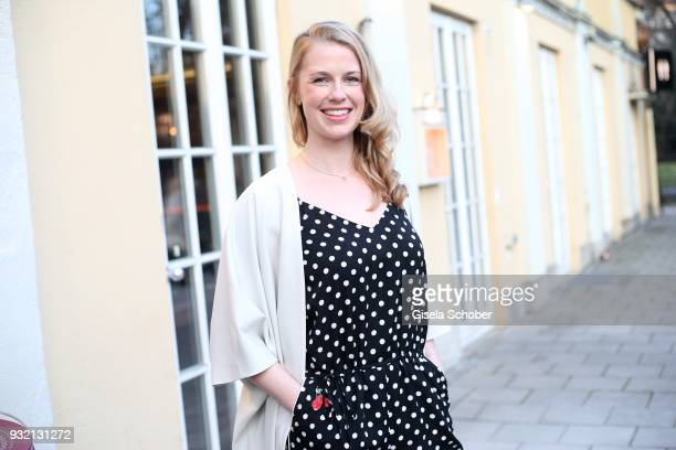 Christine Eixenberger during the NdF after work press cocktail at Parkcafe on March 14 2018 in Munich Germany