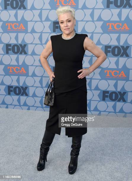 Christine Elise arrives at the FOX Summer TCA 2019 All-Star Party at Fox Studios on August 7, 2019 in Los Angeles, California.