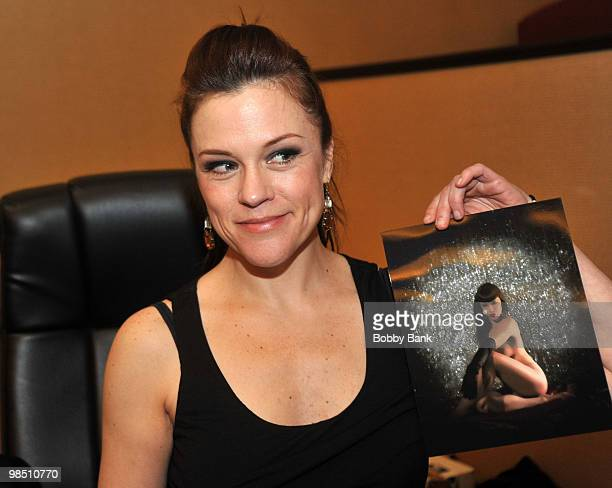 Christine Elise attends Day 1 of the 2010 Chiller Theatre Expo at the Hilton Parsippany on April 16 2010 in Parsippany New Jersey