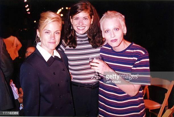 Christine Elise Debra Messing Lori Petty during 1996 Fox TCA in Los Angeles California United States