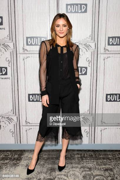 Christine Evangelista attends the Build Series to discuss 'The Arrangement' at Build Studio on February 28 2017 in New York City