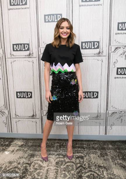 Christine Evangelista visits Build Series to discuss 'The Arrangement' at Build Studio on March 6 2018 in New York City