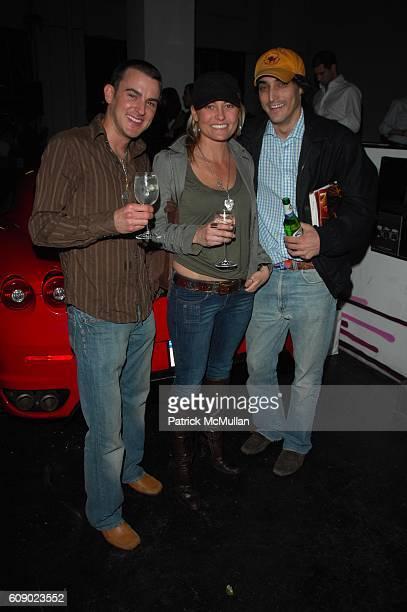 Christine Farias and Adam Shugar attend DAVID YURMAN presents the DAVID YURMAN RACECAR and the Fall 2007 Men's Collection at Classic Car Club...