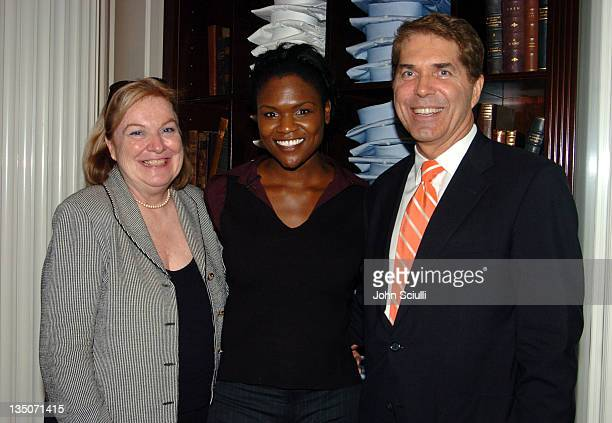 Christine Ginther Meagan Mullen and Kurt Ginther during Brooks Brothers Host a Cocktail Reception to Benefit the Maple Counseling Center at Brooks...