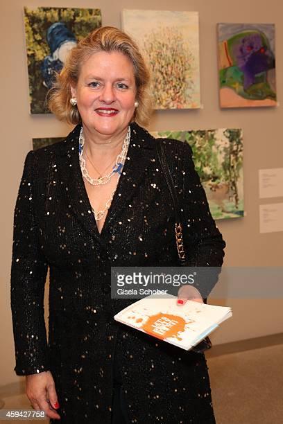 Christine Graefin von Rantzau during the PIN Party 'Lets Party 4 Art' at Neue Pinakothek on November 22 2014 in Munich Germany