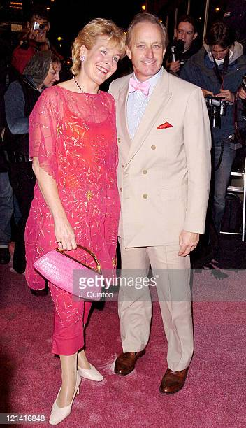 Christine Hamilton and Neil Hamilton during 2004 Pink Party for Cancer Research at Zeta Bar in London Great Britain