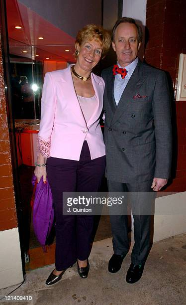 Christine Hamilton and Neil Hamilton during Celine Charity Auction Arrivals at The Music Rooms in London Great Britain