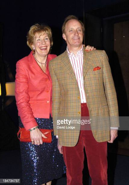 Christine Hamilton and Neil Hamilton during 'Hell's Kitchen II' Day 9 Arrivals at Brick Lane in London Great Britain