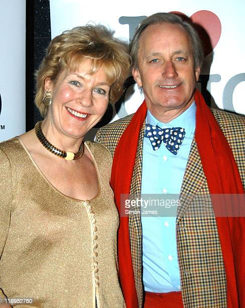 Christine Hamilton and Neil Hamilton during 'I Love Soho' Campaign Launch Party at 2TooMuch in London Great Britain