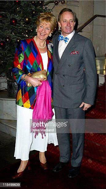 Christine Hamilton and Neil Hamilton during Specsavers Look of 2003 Final at Grand Ballroom Langham Hilton in London United Kingdom