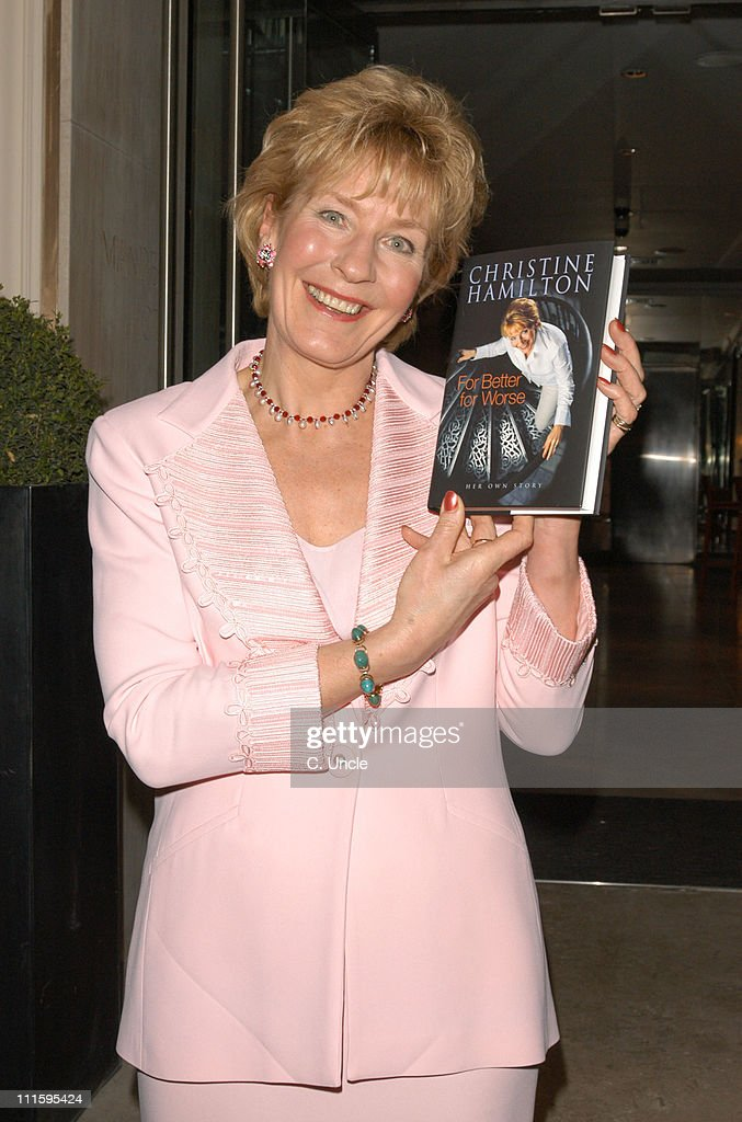 "Christine Hamilton's Book ""For Better or Worse"" Launch Party"