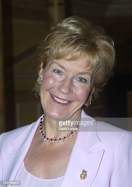Christine Hamilton during Make A Wish Foundation Fashion Show and Champagne Reception Arrivals at The Dorchester Hotel in London Great Britain