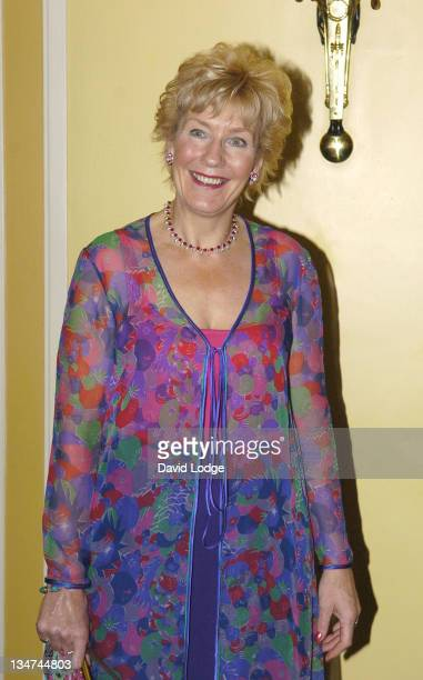 Christine Hamilton during MakeaWish Fashion Arrivals October 19 2005 at Dorchester in London Great Britain