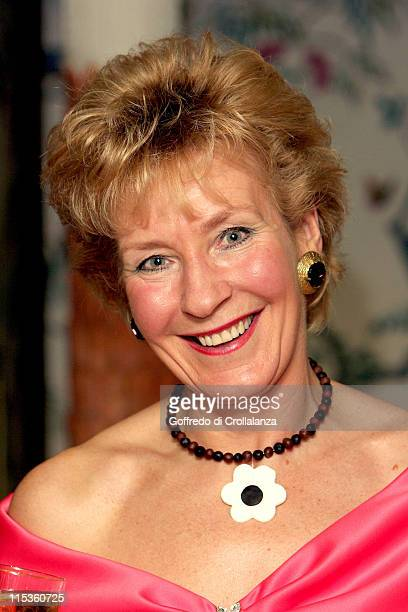 Christine Hamilton during The Chocolate Ball in Aid of Sargent's Cancer Care at The Dorchester Hotel in London Great Britain