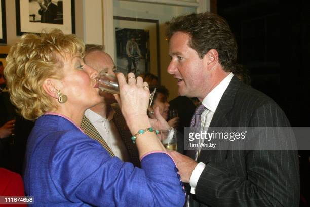 Christine Hamilton Neil Hamilton and Piers Morgan