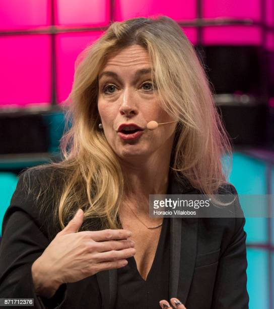 Christine Herron Mentor StartX discusses on 'Sexism in the valley' during the third day of Web Summit in Altice Arena on November 08 2017 in Lisbon...