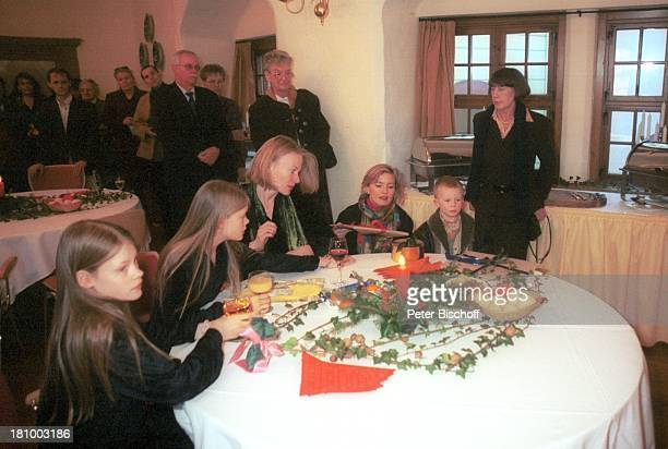 Christine Hoppe Zwillingstöchter Clara Magdalena und Marie Christine Schwester Josephine Hoppe ihr Sohn Oscar Mutter Friederike Hoppe...