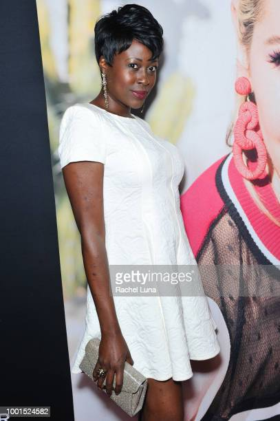 Christine Horn attends the GENLUX Fashion And Philanthropy Magazine Issue Release Party hosted by actress/model Olivia Jordan at SUR Lounge on July...