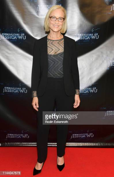 Christine Kapetan attends the Chronicles of Jessica Wu Season 2 premiere at SAGAFTRA Foundation Screening Room on April 20 2019 in Los Angeles...