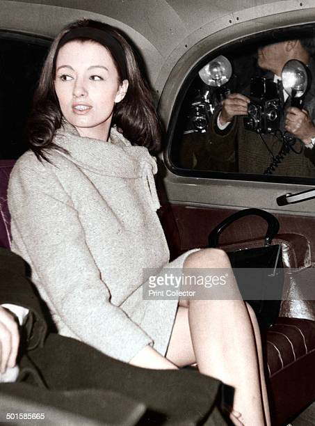 Christine Keeler arriving at the Old Bailey London 1963 Christine Keeler's affair with John Profumo the Secretary of State for War caused a scandal...