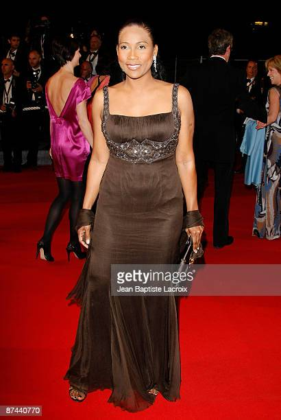 Christine Kelly attends the premiere of ''Taking Woodstock'' at the Grand Theatre Lumiere during the 62nd Annual Cannes Film Festival on May 16 2009...