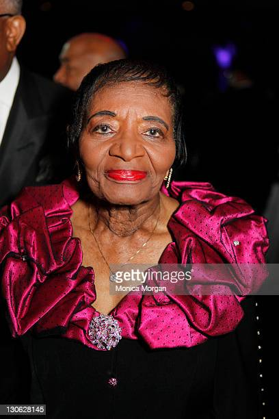 Christine King Farris attends the Martin Luther King Jr Memorial Legacy Reception at the Washington Hilton on October 15 2011 in Washington DC