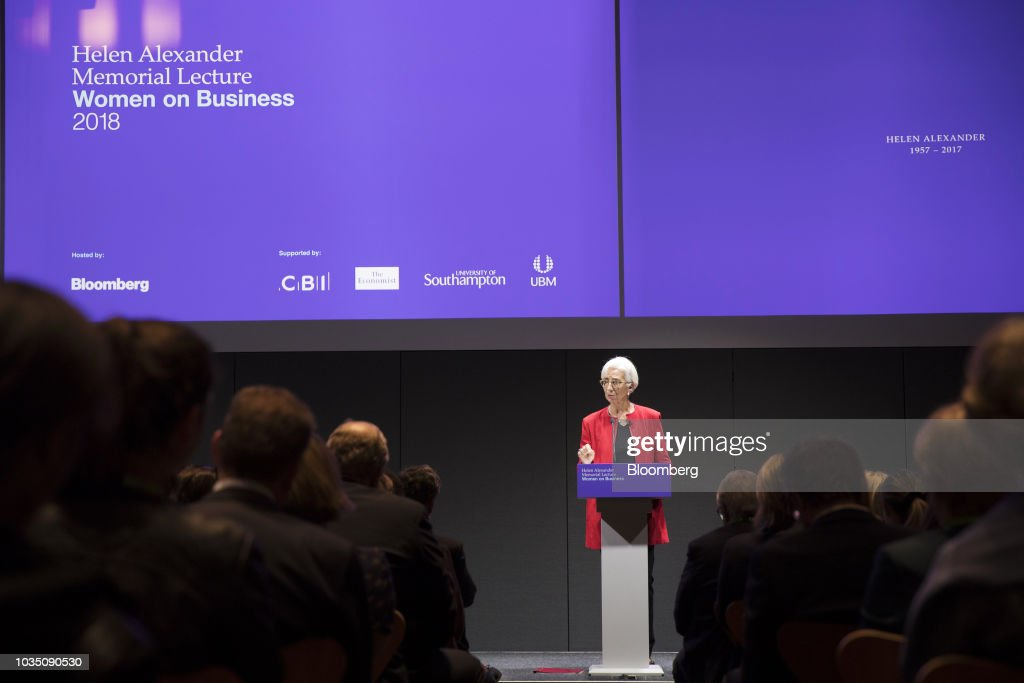 IMF Managing Director Christine Lagarde Delivers Inaugural Helen Alexander Memorial Lecture