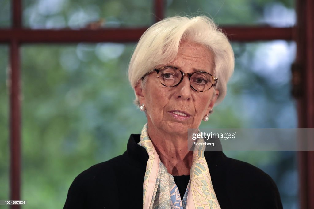 IMF Managing Director Christine Lagarde Presents U.K.'s Annual Economic Checkup