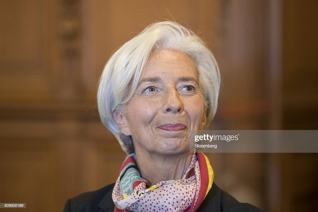 International Monetary Fund (IMF) Managing Director Christine Lagarde On Trial For Alleged Negligence : Nachrichtenfoto