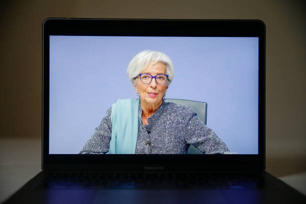 GBR: ECB President Christine Lagarde Announces Rate Decision