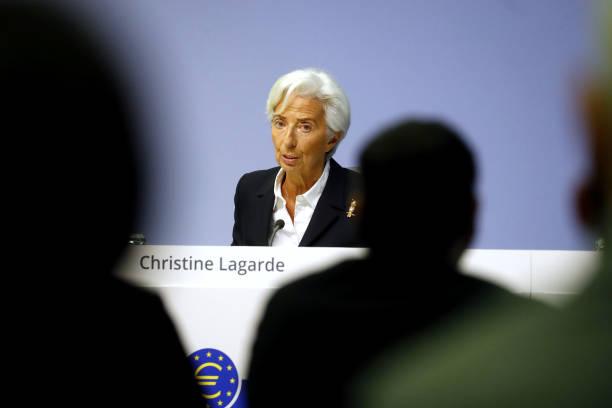 DEU: European Central Bank President Christine Lagarde Announces Rate Decision