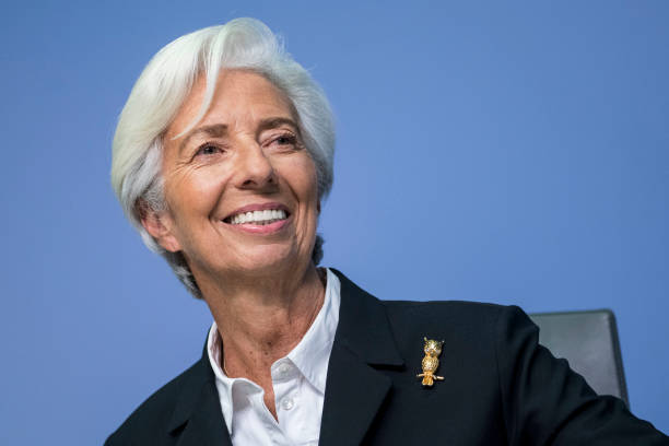 DEU: Christine Lagarde Holds Press Conference Following ECB Governing Council Meeting