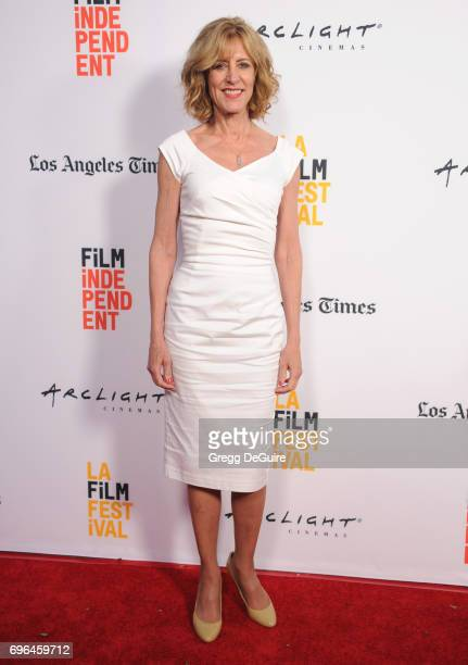 Christine Lahti arrives at the 2017 Los Angeles Film Festival Premiere Of Becks at Arclight Cinemas Culver City on June 15 2017 in Culver City...